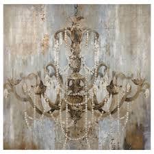 chandelier canvas art diy designs