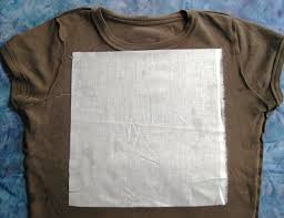 How to Stabilize T-Shirts for T-Shirt Quilting » New Quilters & Press the interfacing to the t-shirt. Adamdwight.com