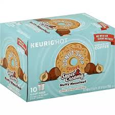 The original donut shop ® coffee get ready to dive headfirst into a cup of delicious coffee. Donut Shop Coffee Medium Roast Nutty Hazelnut K Cup Pods Buehler S