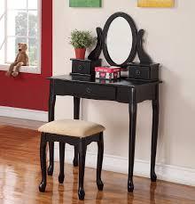 black makeup vanity with drawers. image of: capri black makeup vanity table with drawers