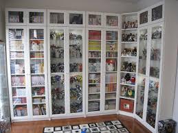 wall mounted glass door display cabinet