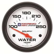 installing tachometer or water temp gauge auto meter 5837 00407 gm white air core water temperature gauge
