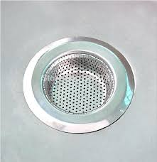 oxo drain cover kitchen stainless steel sink strainer waste disposer plug drain stopper filter m l size