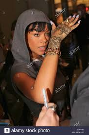 Rihanna Tattoo Stock Photos Rihanna Tattoo Stock Images Alamy