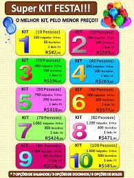 Kit de festa para 60 pessoas. O Melhor Kit Festa De Sjcampos Salgados Multisabor Facebook