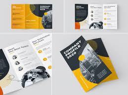 Handout Designs Tri Fold Company Profile 2020 Company Profile Design