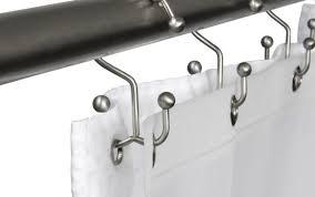 curved plastic fabric tension vinyl gold matte rings liner hooks bear home cover flower target