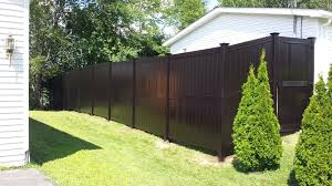 black vinyl privacy fence. Fence Products And Installation All Around Company Black Vinyl Privacy