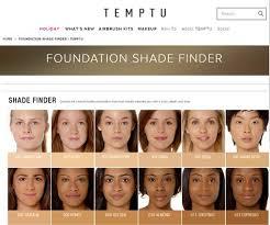 temptu foundation finder