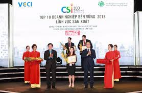 coca cola honored in top 2 most susnable enterprises in vietnam 2018