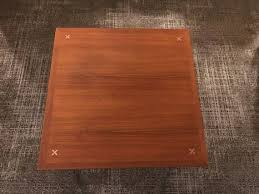 martinsville square coffee table