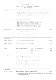 doctor resumes doctor resume templates 2019 free download resume io