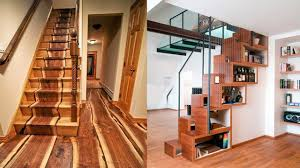 Attractive Modern Indoor Wooden Stairs design Ideas | Wood Stair Trends