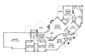 corner lot house plans. Contemporary House Plan - Hawthorne 30-054 Floor Corner Lot Plans