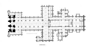 Typical Middle Ages Cathedral Floorplan  Social Studies Cathedral Floor Plans