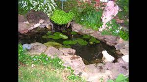 Small Picture Small garden fish ponds design ideas YouTube