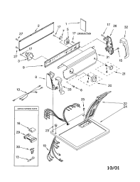 Kenmore electric dryer wiring diagram natebird me for