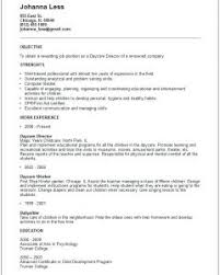 Unique Nanny Sample Resume Objectives Also Nanny Skills Resume Nanny ...