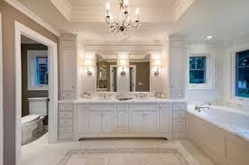 bathroom chandelier lighting ideas. wonderful chandelier bathroomsluxury bathroom with white tub and vanity cabinet  classic wall lamps cheering on chandelier lighting ideas i