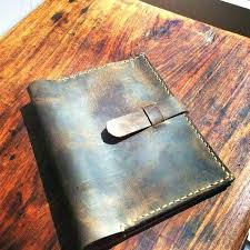 faux leather binders custom hand tooled 3 ring binder bind