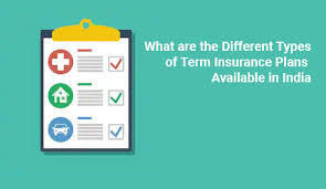 Term life insurance plans offered by the government of india the indian government has taken multiple steps to ensure the financial security of the people and their dependents. Types Of Term Insurance Plans In India August 2019 Wishpolicy Term Insurance How To Plan Permanent Life Insurance
