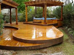 Backyard Deck Design New Decorating Design