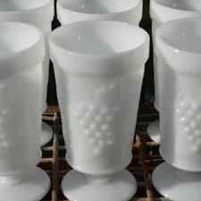 Grape Pattern Milk Glass Custom Shop Milk Glass Patterns Grapes On Wanelo