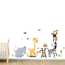 wall decor baby on safari themed nursery wall art with wall decor baby kemist orbitalshow