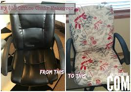 reupholstering an office chair. my 20 office chair makeover a mother thing reupholstering an