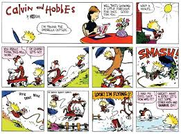 calvin and hobbes april 1986