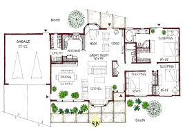 passive solar house designs floor plans australia northeast