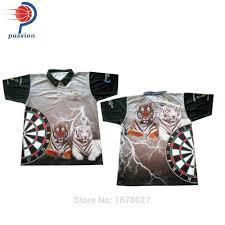 Dart Shirt Designs Unique Team Grey Dart Shirt With Tiger Designs Free Shipping Via Dhl