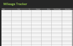 driving log template 30 printable mileage log templates free template lab