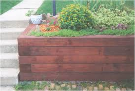 Small Picture Treated Landscape Timbers Retaining Wall