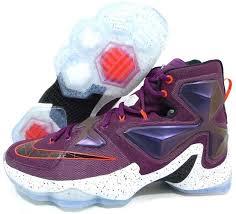 lebron purple shoes. nike lebron 13 shoe purple shoes b