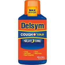 Delsym Nighttime Cough Medicine Delsym