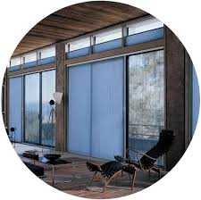 honeycomb shades with vertiglide for doors