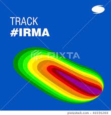 Track Irma Heath Signature. Hurricane indication. - Stock Illustration  [46936268] - PIXTA