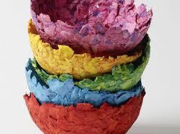 Flower Paper Mache A Recipe For No Cook Paper Mache Paste