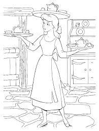 Cinderella Coloring Page Pages Coloring Sheets Cinderella Coloring