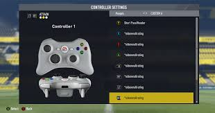 controller settings problem anyone face with this similar problem