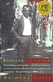 romulus my father reading  book cover image for romulus my father