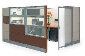 office cubicle door. Stylish Design Office Cubicles With Doors Simple A Great Enclosed Yet Open Cubicle Frosted Windows Create Door