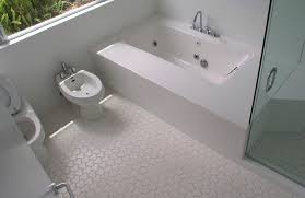 Unique Mosaic Tiles Shaped Flooring Tiles For Bathroom Feat Glass - Bathroom with jacuzzi and shower