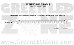 led t8 retrofit kit converts 2 8ft fluorescent tubes into 4 4ft led wiring diagram for add on tubes