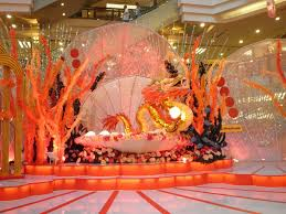 image of chinese dragon decorations