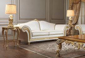 classic sofa designs. Classic Sofa Leather 2 Seater White Imperial Vimercati Designs N
