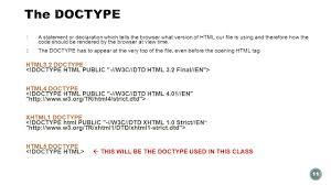 Thursday, July 9 Instructor: Craig Duckett Crash Course in HTML ...