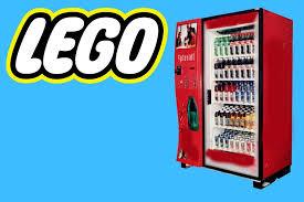 Lego Soda Vending Machine Inspiration How To Build A Lego Soda Machine YouTube
