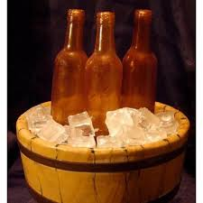 life size 9 beer bottle silicone icing